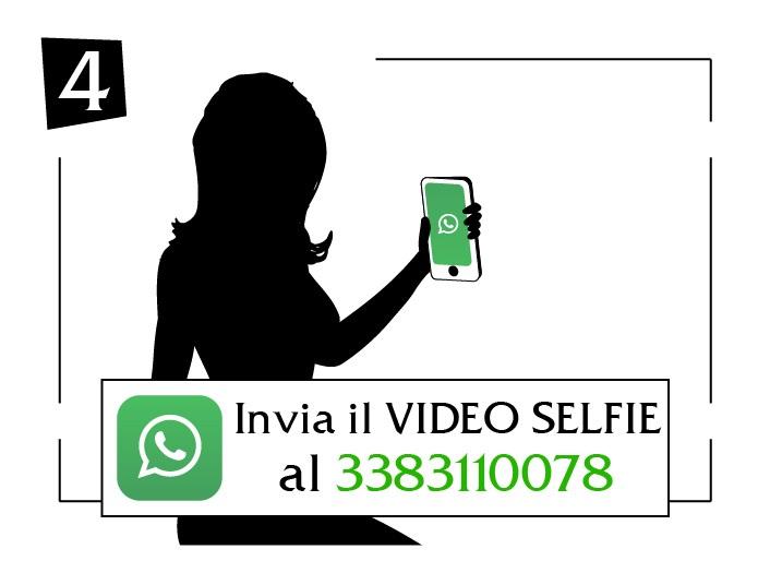 Invia il tuo video selfie Calabria