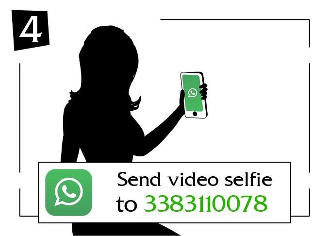 Send video selfie calabria to
